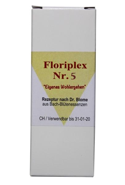 """Floriplex Nr. 5 """"Eigenes Wohlergehen"""""""